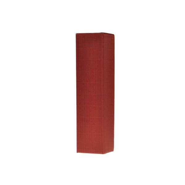 Kokerdoos 1-fles, Bordeaux, 80x80x340mm (50st)