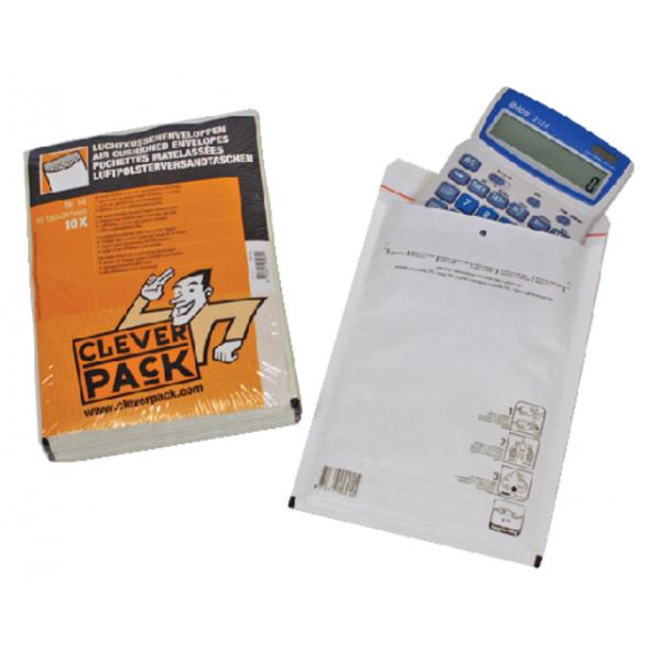 Envelop cleverpack luchtkussen 14 202x275 10st wit