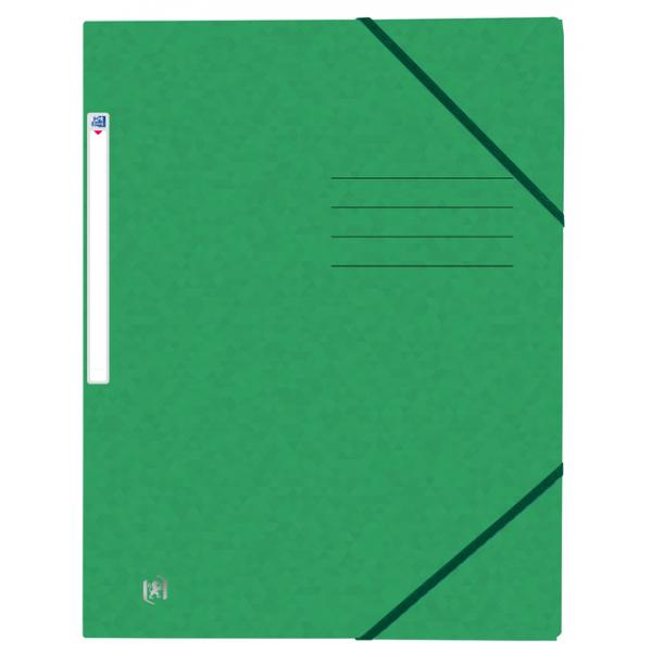 Elastomap oxford top file+ a4 groen(400116355)