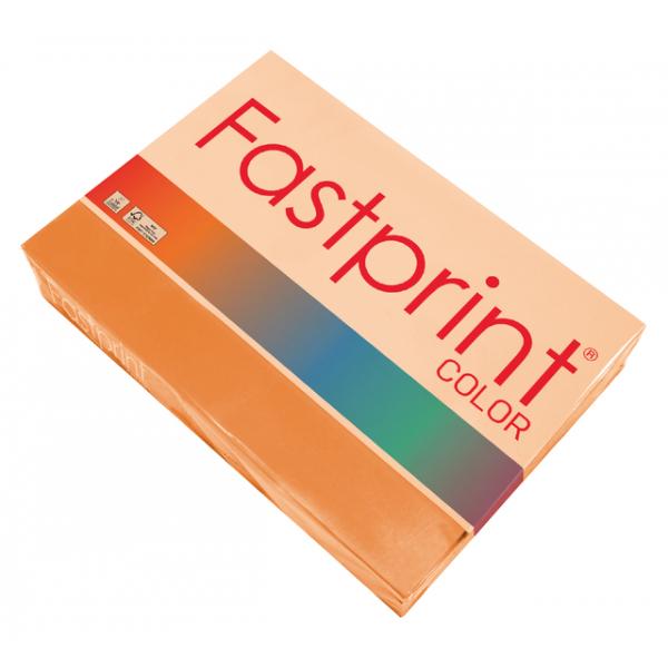 Kopieerpapier fastprint a4 80gr oranje