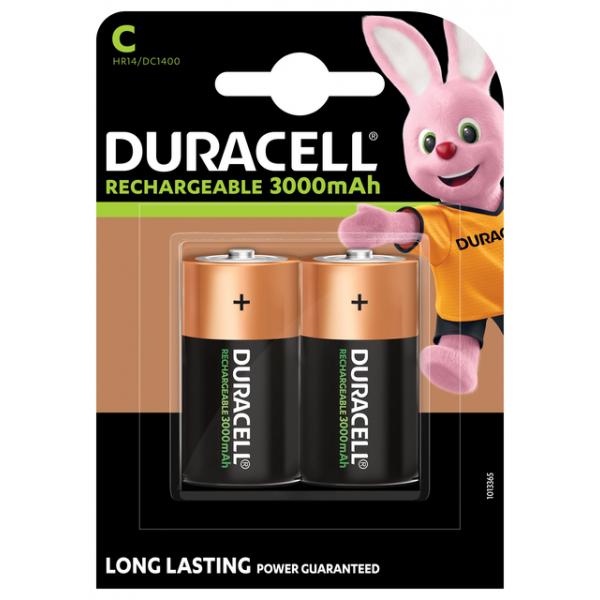 Batterij oplaadbaar duracell c hr14/2 nihm