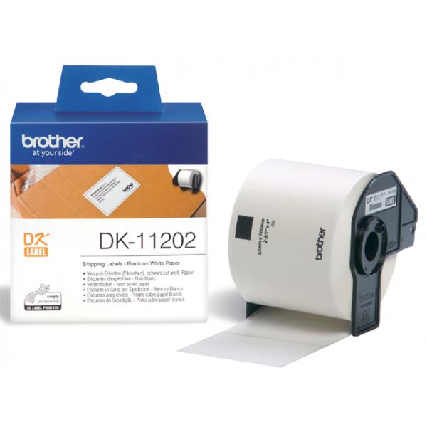 Etiket brother dk-11202 verzend 100mmx62mm