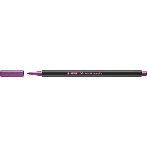 Viltstift stabilo 68/856 metallic roze(68/856)