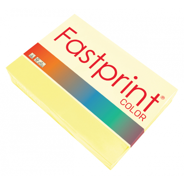 Kopieerpapier fastprint a4 80gr geel