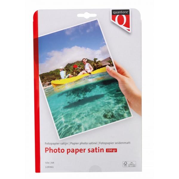 Fotopapier quantore a4 230gr mat satijn(88110948)