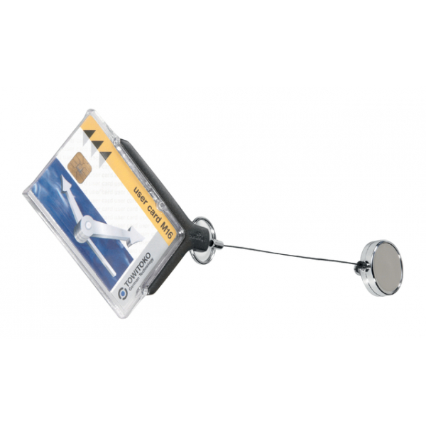 Badge durable pro met afrolmechanisme 8307.58(830758)