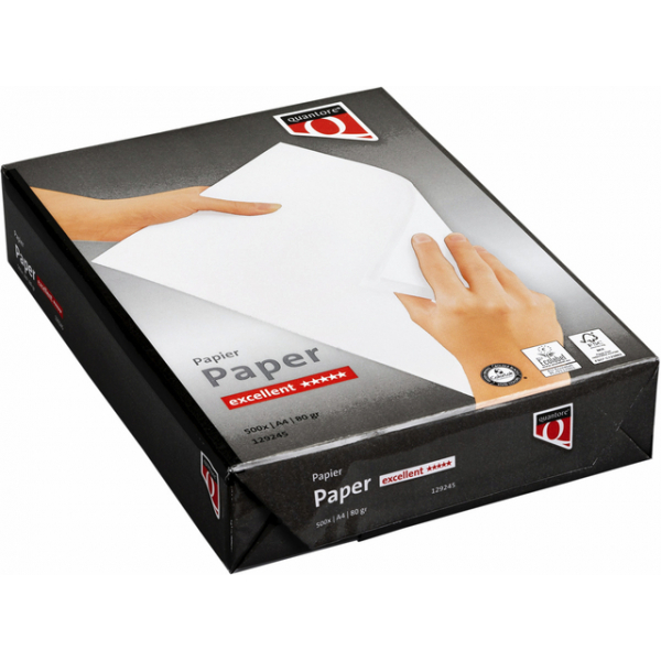 Kopieerpapier quantore excellent a4 80gr wit